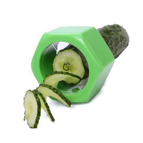 Spiral Cucumber Slicer - Kitchen Tools & Gadgets - RealUSAShop