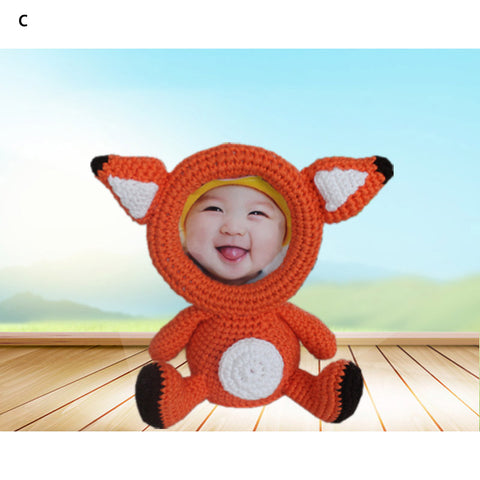 Animal Design Knitted Photo Frame - Baby Products - RealUSAShop