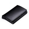 Image of GENUINE ANTI-MAGNET LEATHER RFID CARD PROTECTOR WALLET - Bags - RealUSAShop