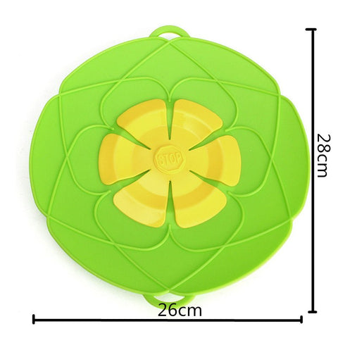 Silicone Lid Spill Stopper Multi-Function Cooking Tools - Kitchen Tools & Gadgets - RealUSAShop