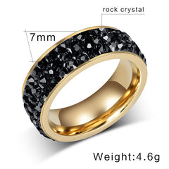 Luxury Austrian Crystals Women Ring