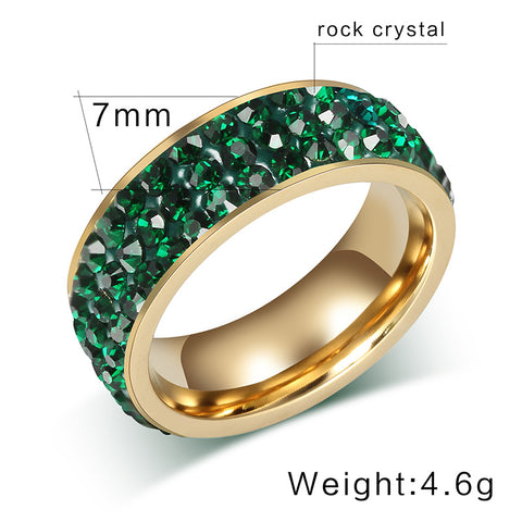 Luxury Austrian Crystals Women Ring - Jewelry & Accessories - RealUSAShop