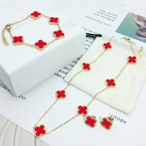 Red Golden Set - 3 Pcs/Set