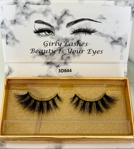 Girly Lashes - Model 3D644