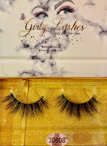 Girly Lashes - Model 3D608