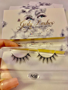 Girly Lashes - Model N56