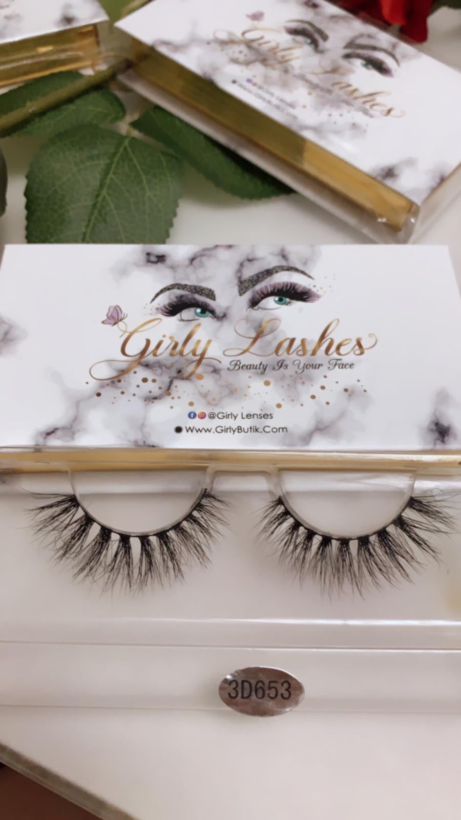 Girly Lashes - Model 3D653