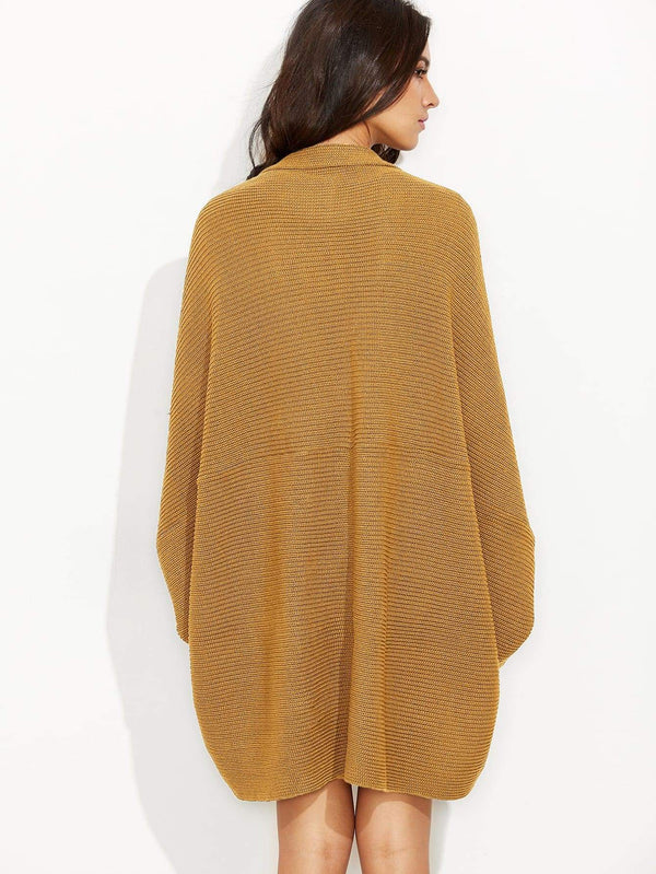 Open Front Dolman Cardigan - Salted Seagull