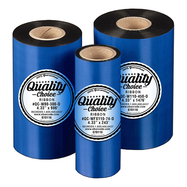 QC-Thermal Transfer Wax Ribbon - 110mm X 450m