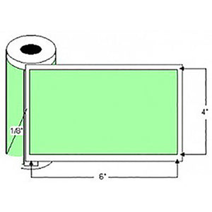 QC-Thermal Transfer Labels - 4in X 6in (4 Rolls)
