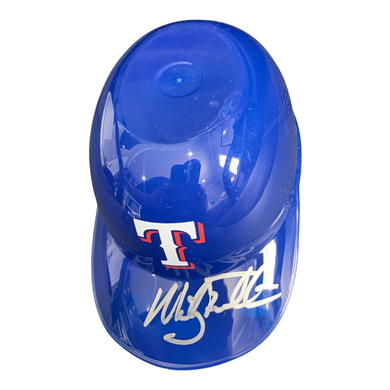 Mickey Tettleton Signed Baseball Mini Ice Cream Helmet Autographed - Texas Rangers COA