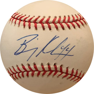 Billy Koch Signed Official Major League OML Baseball Autograph MLB Blue Jays JSA COA