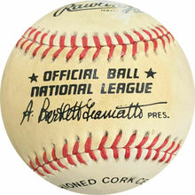 Load image into Gallery viewer, Wally Ritchie Signed Giamatti National League Baseball - AWM COA - Phillies