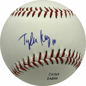 Tyler Ivey Signed ROML Baseball Houston Astros Prospect MLB BECKETT COA