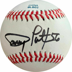 Danny Patterson Signed Baseball - Autographed - Tigers - Texas Rangers COA