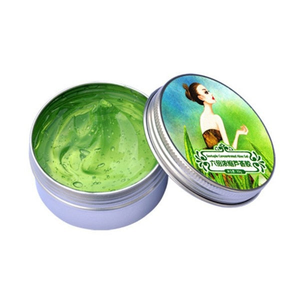 New Women Aloe Vera Gel Cream Remove Acne Whitening Moisturizing Face Skin Care Sets Six Times Concentrated Essence