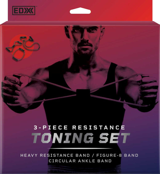 EDX - 3-Piece Resistance Toning Set