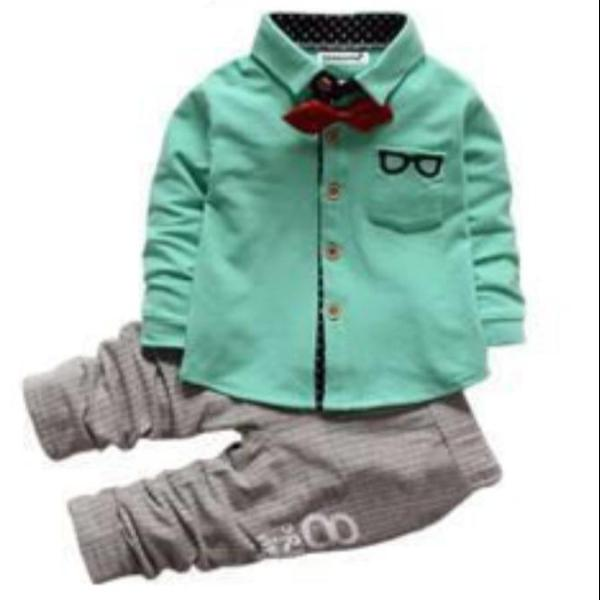 Button Up Pants Set (12M-3T)