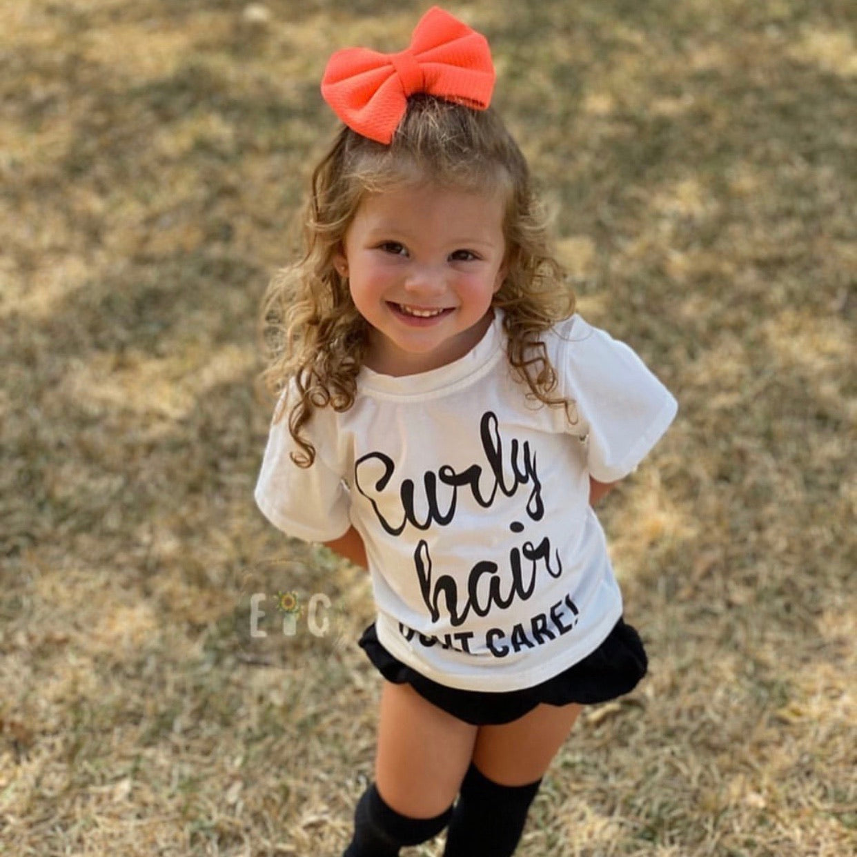 Curly Hair Don't Care (2T-5Y)