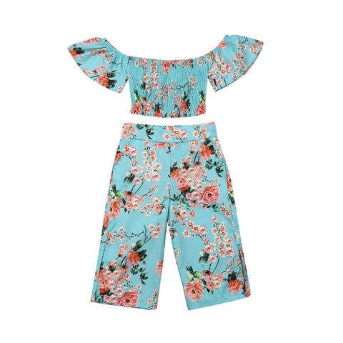 Cereal Floral Scrunch Set