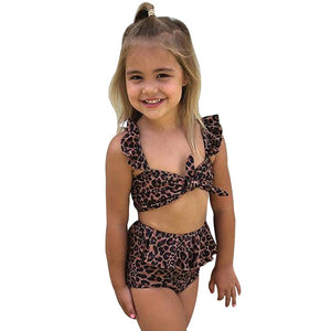 Ruffle Bathing Suit Set