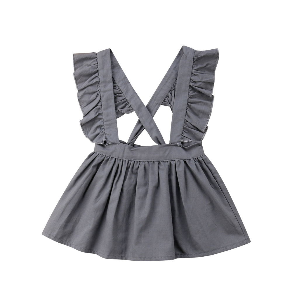 Ruffle Suspender Skirt