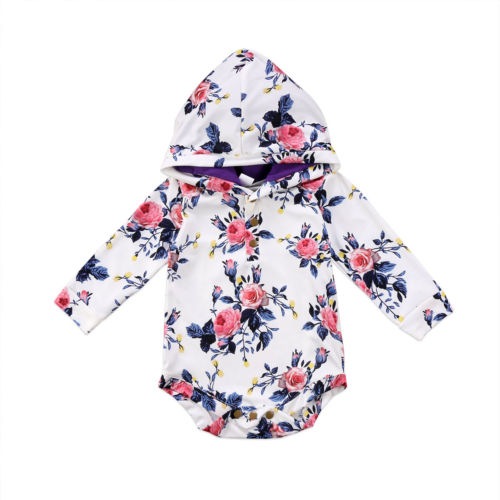 Floral Hooded Shirt (6M-24M)
