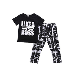 Like A Boss Set (12M-5T)