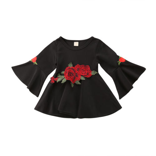 Black Rose Dress (12M-5)