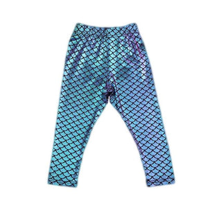 Duo Chrome Mermaid Leggings