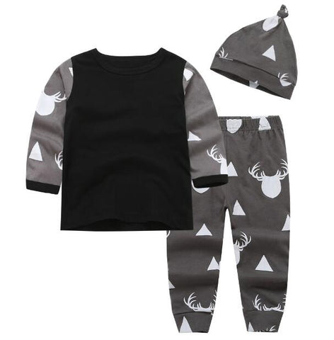 Grey Deer Three Piece Set