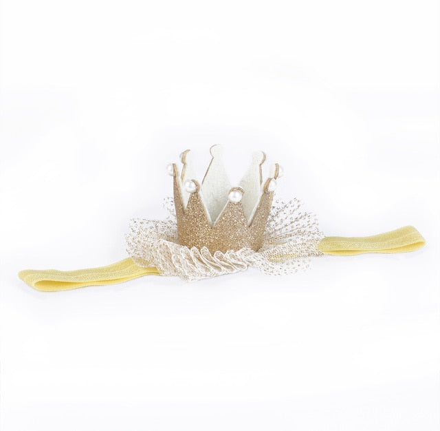 Crown Elastic Headband