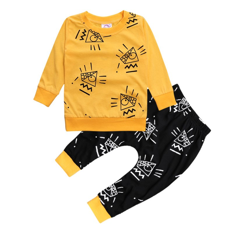 Yellow Pyramid Set (6M-3T)