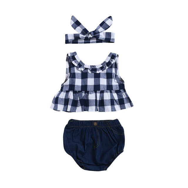 Checkered Set (6M-3T)