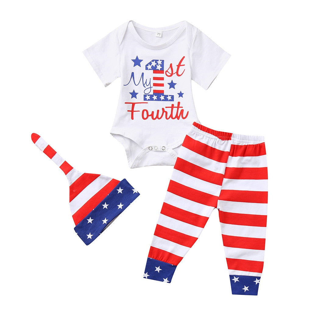 My First Fourth Pant Set