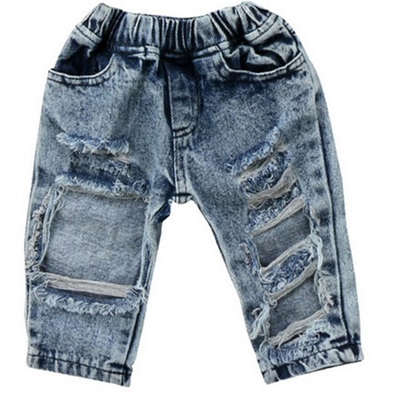 Distressed Denim Jeans (12M-5T)