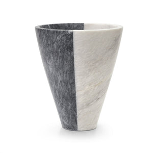 Ashmoore Marble Tapered Vase