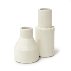 Nova Cylinder Urns, Sm, Set Of 2