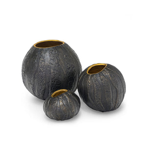 Batu Urns, Set Of 3
