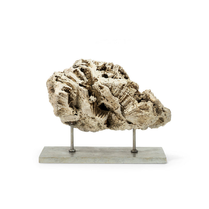 Keller Fossilized Coral Decor, Low