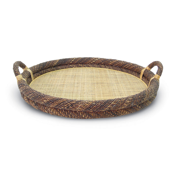 Round Havana Rope Top Tray