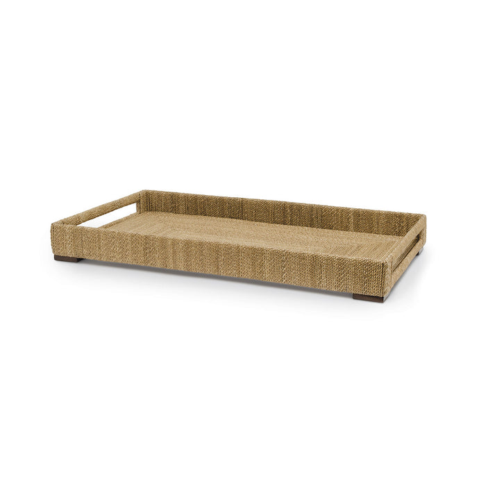 Woodside Rect Tray, Lg, Natural