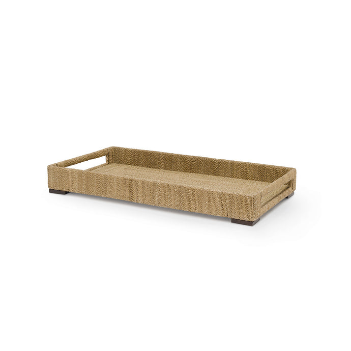 Woodside Rect Tray, Sm, Natural