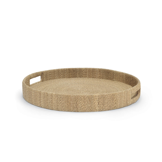 Monarch Round Tray, Lg, Natural