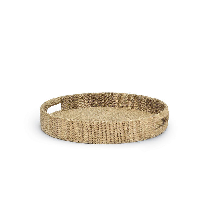 Monarch Round Tray, Sm, Natural