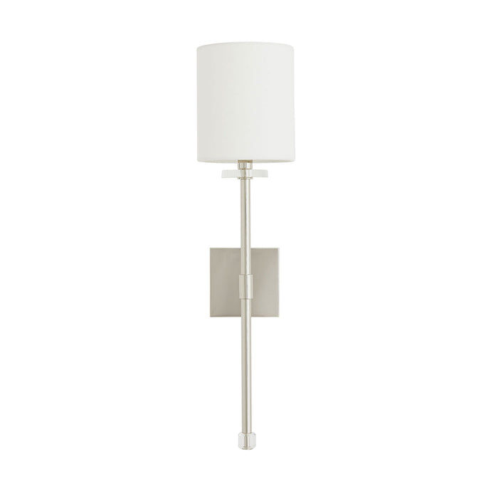Dixie Sconce - Polished Nickel
