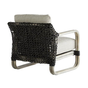 Tara Lounge Chair Fog Basketweave