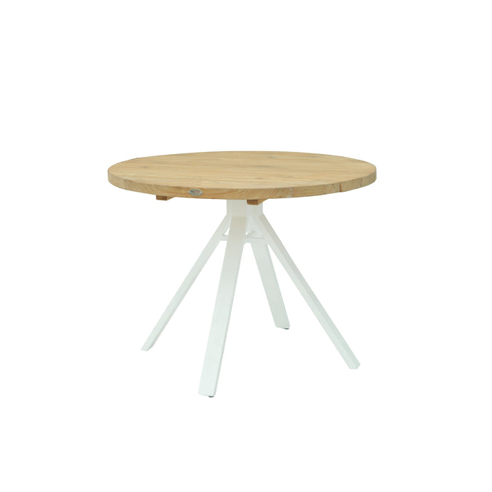 Alaska Round Dining Table - White Matte