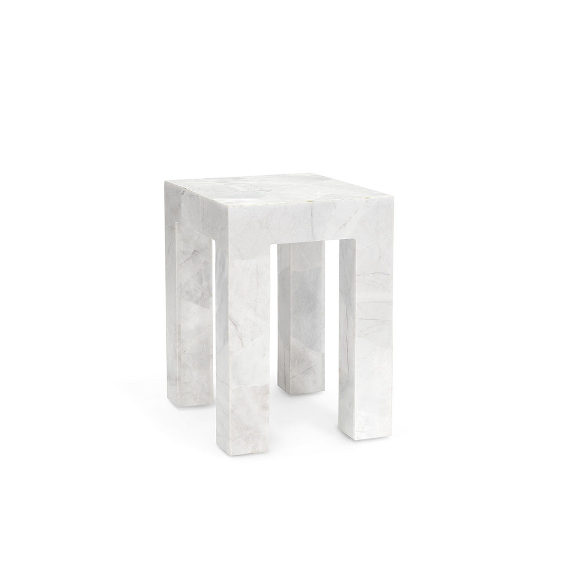 Odessa Marble Side Table