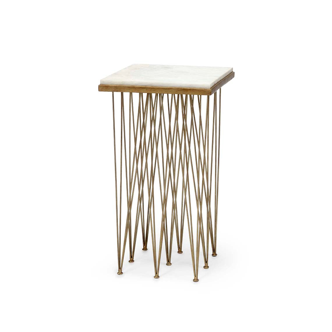 Naxos Marble Side Table